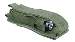 Чехол Kiwidition Flashlight Pouch М (зеленый)